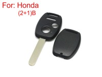 Remote key shell 2+1 button for Honda (without Logo and paper sticker) 5pcs/lot