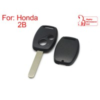 Remote key shell 2-button for Honda (without Logo and paper sticker) 5pcs/lot