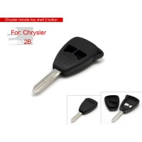 Remote key shell 2 button small for Chrysler 5pcs/lot