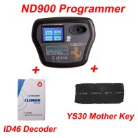 ND900 Key programmer plus ND900 ID46 decoder plus YS30 mother key