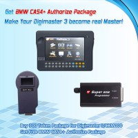 Buy 200 Tokens for Digimaster 3/CKM100 Get Free CAS4+ Authorize Package for BMW-オンライン送り