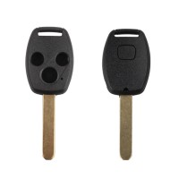 Remote key shell 3-button(with paper sticker) for Honda 5pcs/lot
