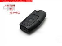 Remote filp key 3 button 433MHZ for Focus HU101
