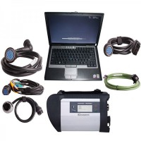 MB SD Connect Compact 4 Star Diagnosis + Second Hand Laptop Lenovo X220 I5 CPU 1.8GHz WIFI 4GB +V2019.5 Software Installed Ready to Use