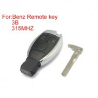 3 Buttons 315mhz Waterproof Remote key for Mercedes Benz