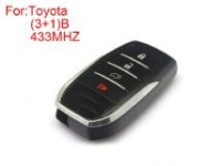 Remote Key 3+1 Buttons 433 MHZ(H-13797)for Toyota