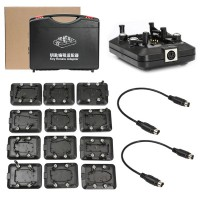 Original Xhorse VVDI KEY TOOL Renew Adapters Full Set 12pcs「無料配送」