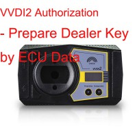 Dealer Key by Ecu Data-VVDI2 Authorization/ VAG COPY Transponder by OBDII