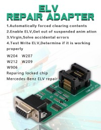 CGDI Prog MB ELV Repair Adapter W204 W207 W212 W209 W906