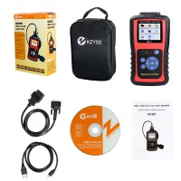 Kzyee KC501 Automotive OBD2 Code Reader, ABS SRS Scanner Car Engine Diagnostic Scan Tool for Diesel and Gasoline 12V Vehicle
