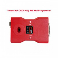 Tokens for CGDI Prog MB Benz Car Key Programmer 180 Days Period