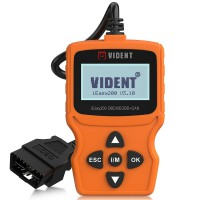 VIDENT iEasy200 OBDII EOBD CAN Code Reader for Vehicle Checking Engine Light Car Diagnostic Scan Tool