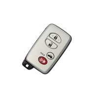 3+1 button Smart Card For Toyota (TOY48) 314.3MHz ASK 0140