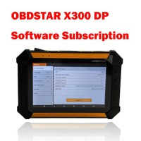 1 Year Software Subscription for OBDSTAR X300 DP Key Programmer Full Version
