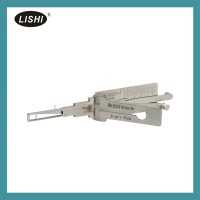 LISHI HU162T(8) Ign Dr 2-in-1 Pick Tool VW VAG(2015) 2-in-1 Auto Pick and Decoder