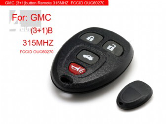 GMC 4Button 315MHZ Remote Key