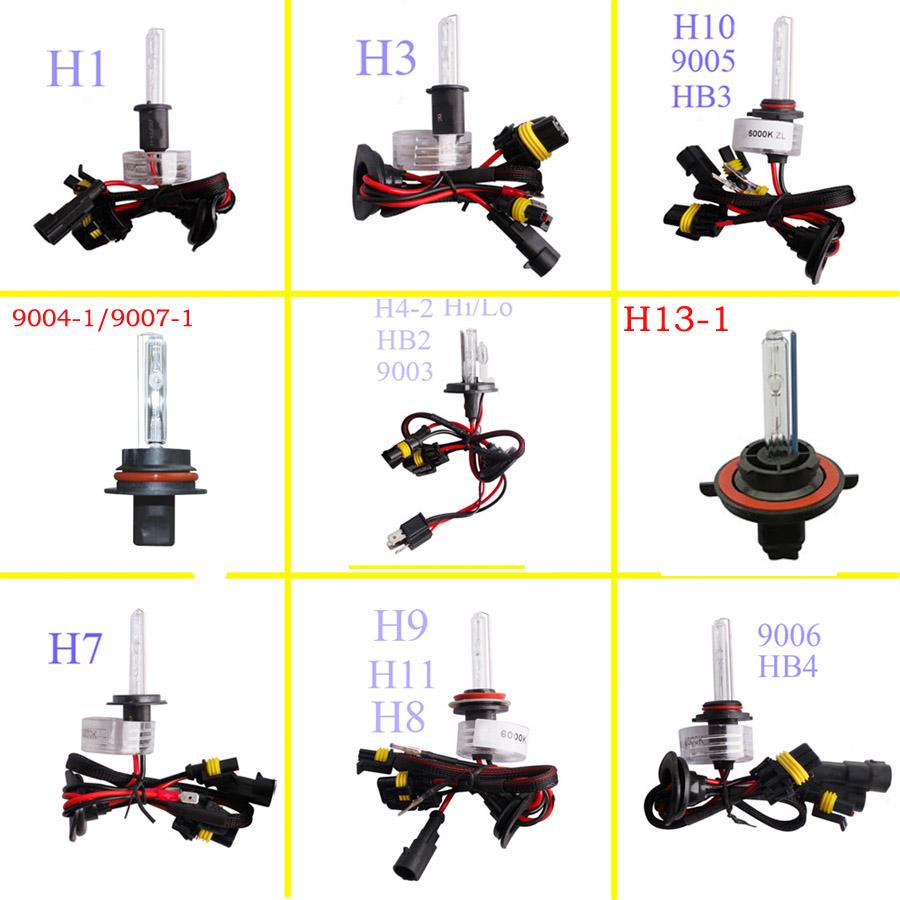 Xexon HID Conversion Kit H1 H3 H4 H7 H11 9004 9006 9007