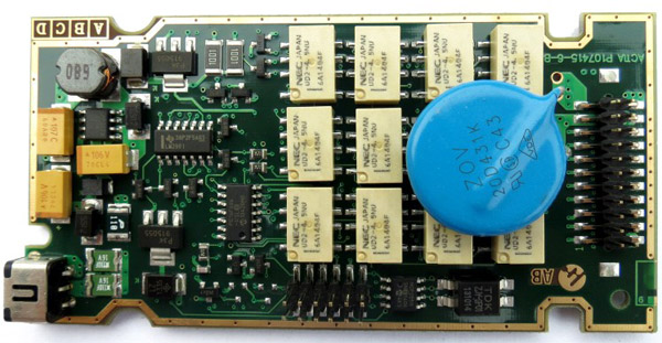 Lexia 3 mainboard picture 3