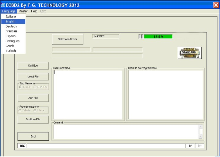 FG Tech2 Software display 2