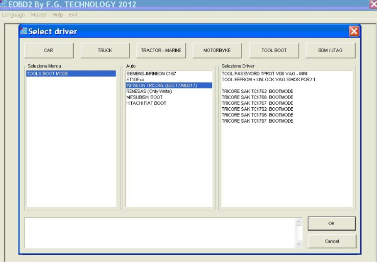 FG Tech2 Software display 4