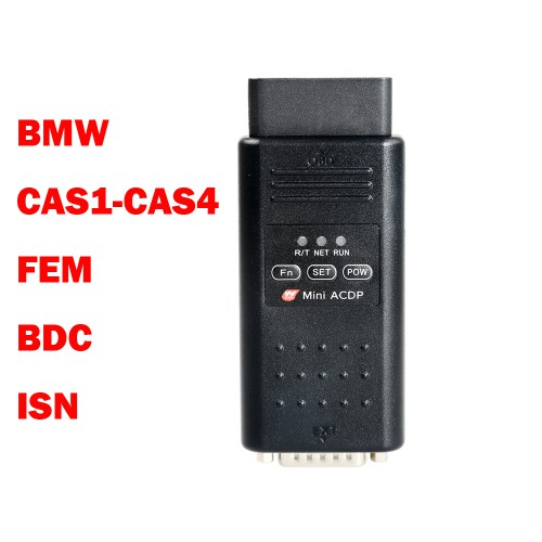 Yanhua Mini ACDP Master with BMW CAS1-CAS4+/FEM/BDC/BMW DME ISN Code Read & Write Full BMW Package FRM Programming