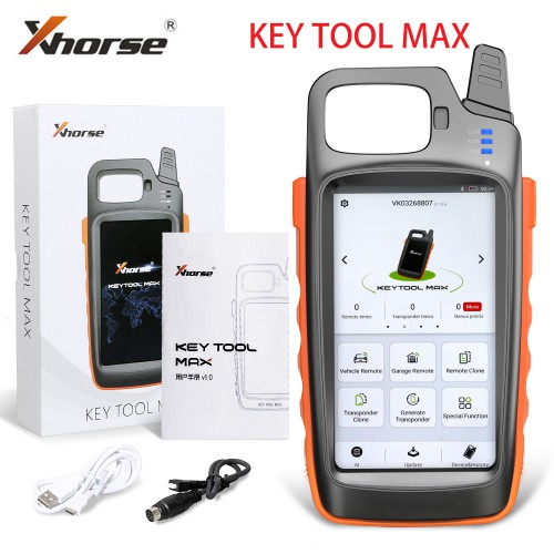 Xhorse VVDI Key Tool Max Programmer and VVDI MINI OBD Tool Bluetooth Update free Generate Transponder Chip and Remote Get Free Renew Cable